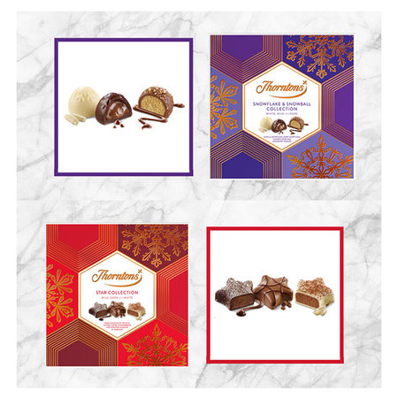 CHOKLADBUDET - Thorntons Snowflake & Snowball collection