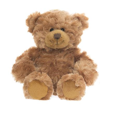 CHOKLADBUDET - Mjuk och gosig nalle, brun, Teddykompaniet