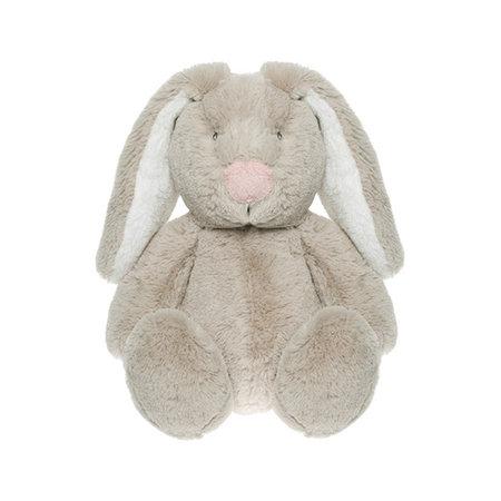 CHOKLADBUDET - Mjuk och gosig kanin, grå, Teddykompaniet