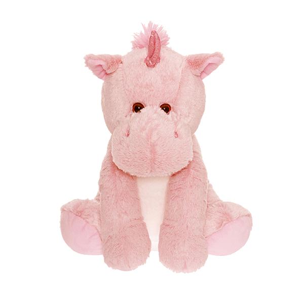 CHOKLADBUDET - Mjuk och gosig rosa enhörning, Teddykompaniet