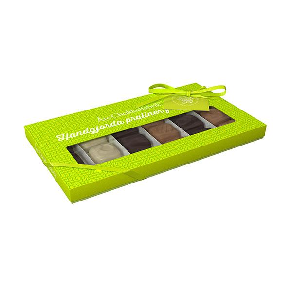 CHOKLADBUDET -Härligt grön pralinask från Årechoklad