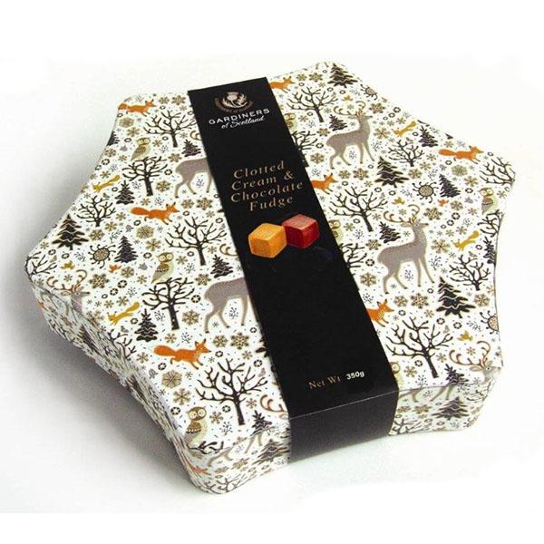CHOKLADBUDET - Gardiners julstjärneask med fudge