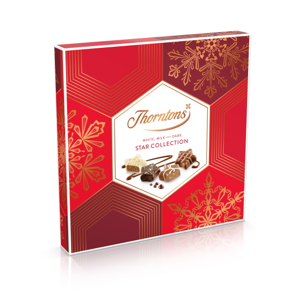 CHOKLADBUDET - Thorntons Star Christmas Collection