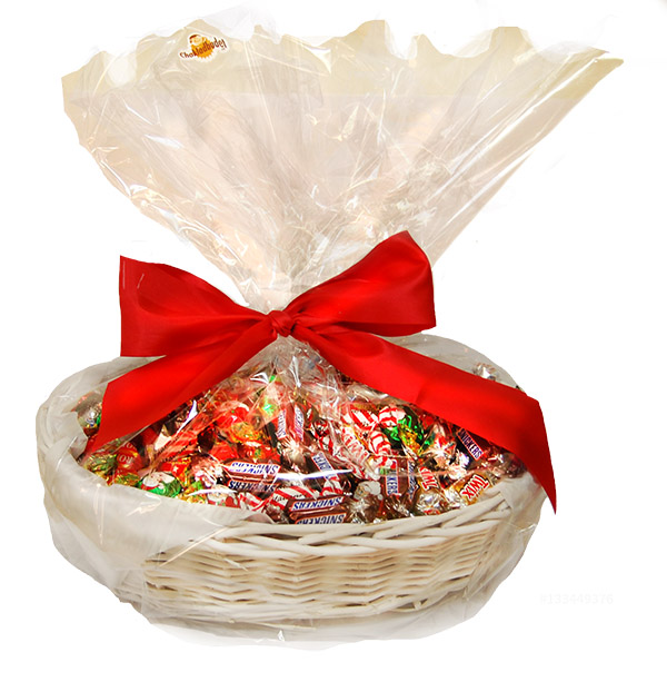 Bild av CHOKLADBUDET - Härlig julkorg med 3 kg choklad