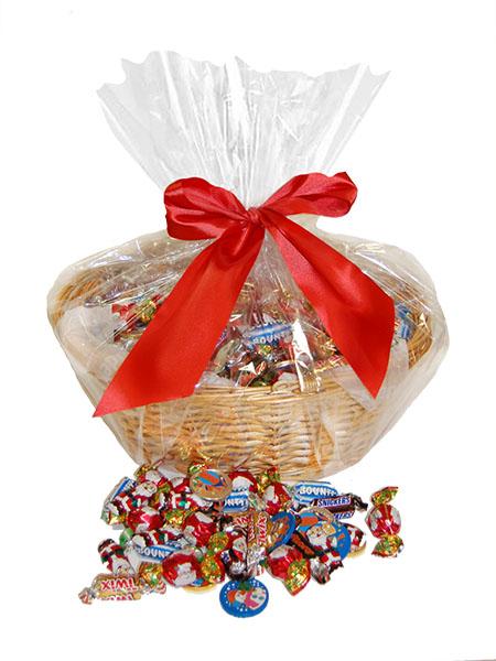 CHOKLADBUDET - Härlig julkorg med 6 kg choklad