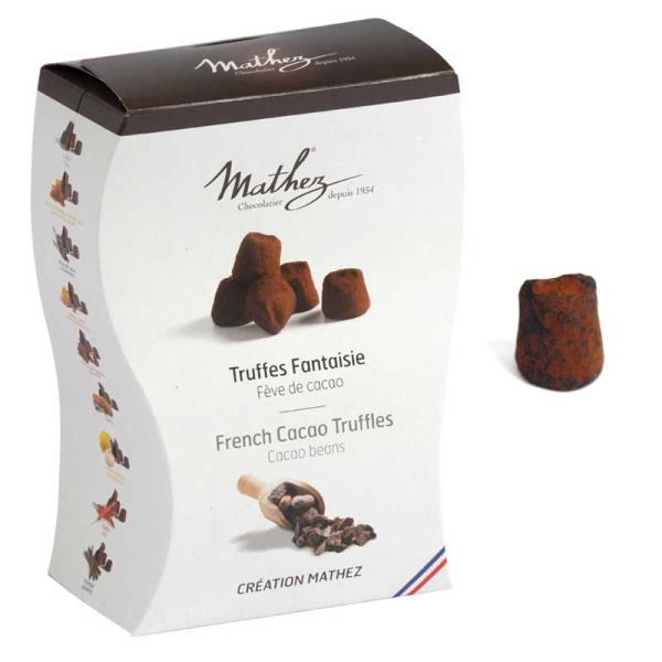CHOKLADBUDET - Mathez Tryffel med Kakaobitar