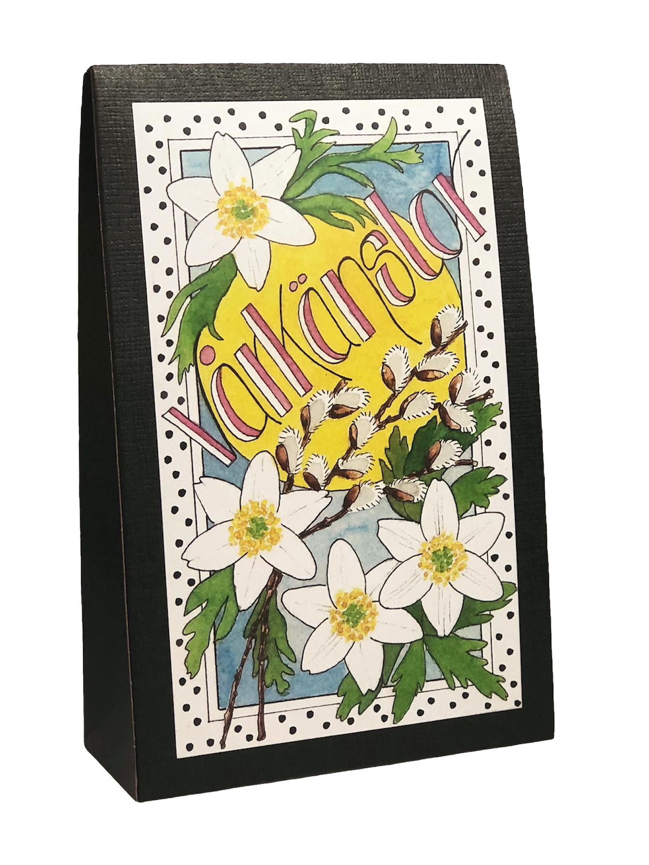 Presentask med choklad 'Vårkänslor'