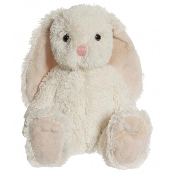 CHOKLADBUDET - Mjuk och gosig kanin, gräddvit, Teddykompaniet