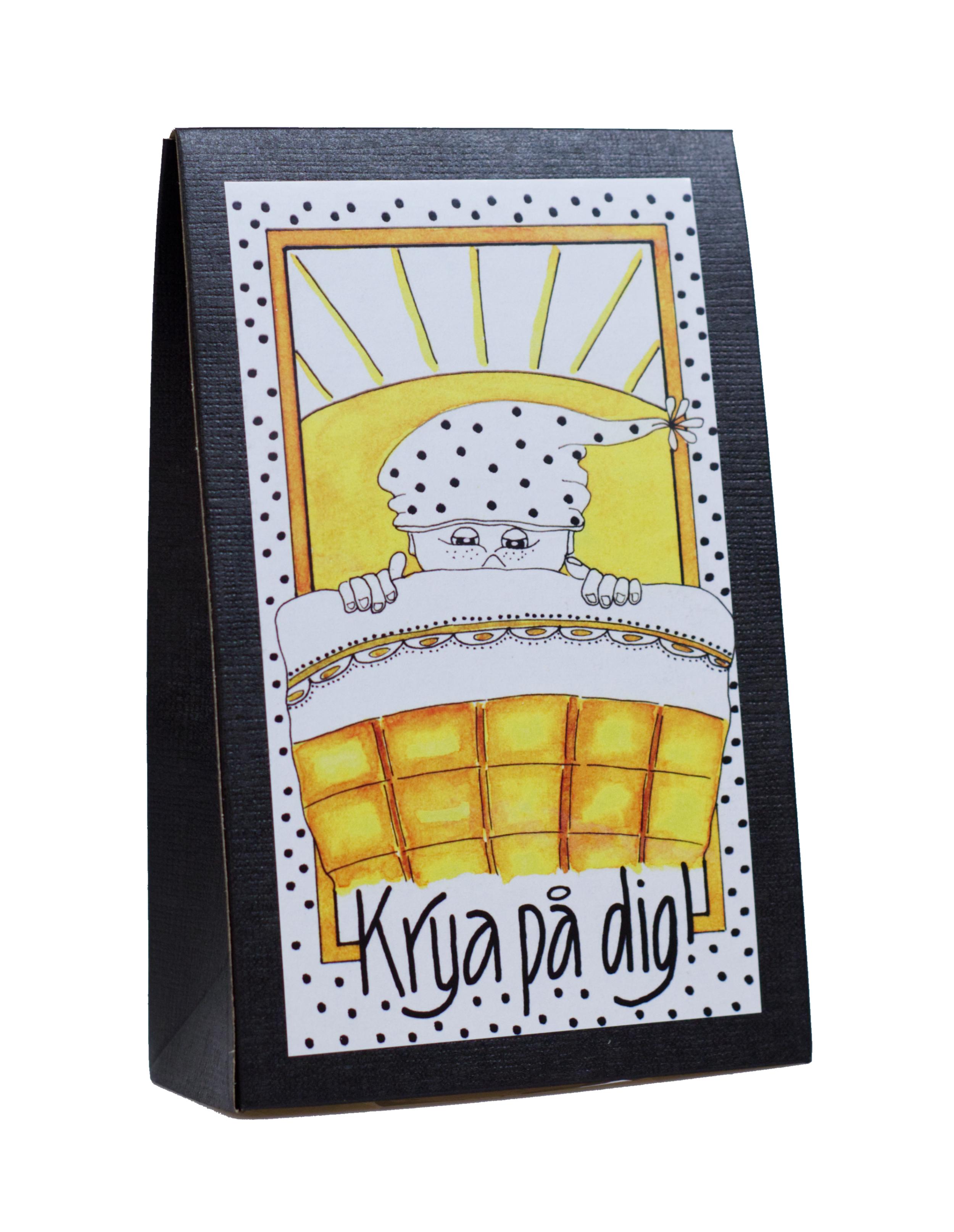 Presentask med choklad 'Krya på Dig'