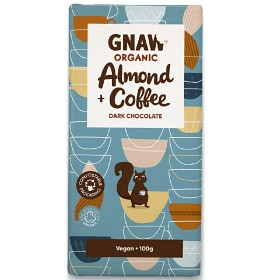 Chokladkaka Dark Chocolate Almond & Coffee Ekologisk