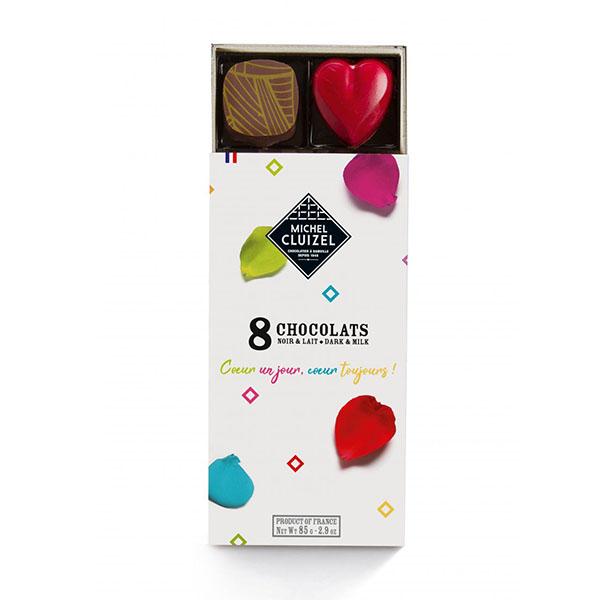 CHOKLADBUDET - Chokladask från Michel Cluizel 8 praliner