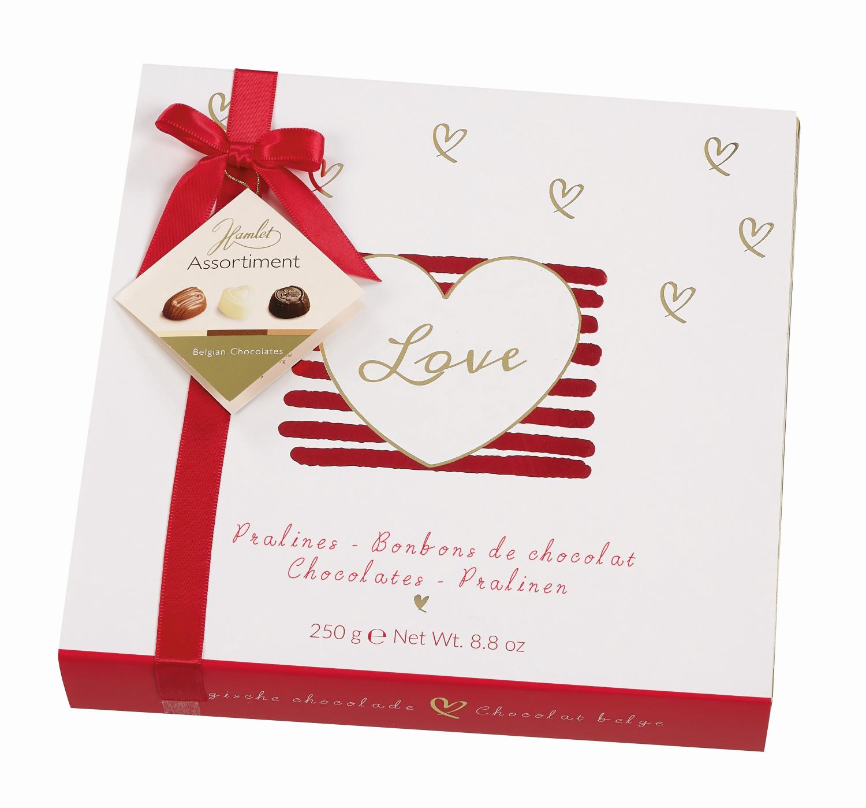 Bild av Darling - Vit Chokladask med belgiska praliner