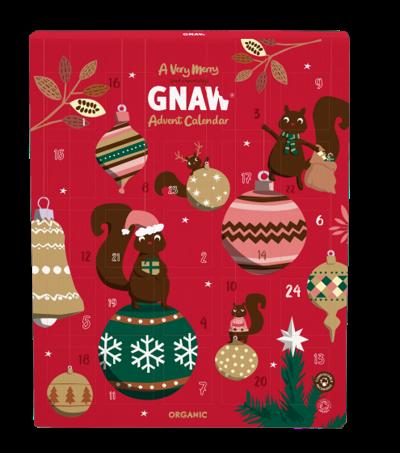Chokladkalender från GNAW Ekologisk