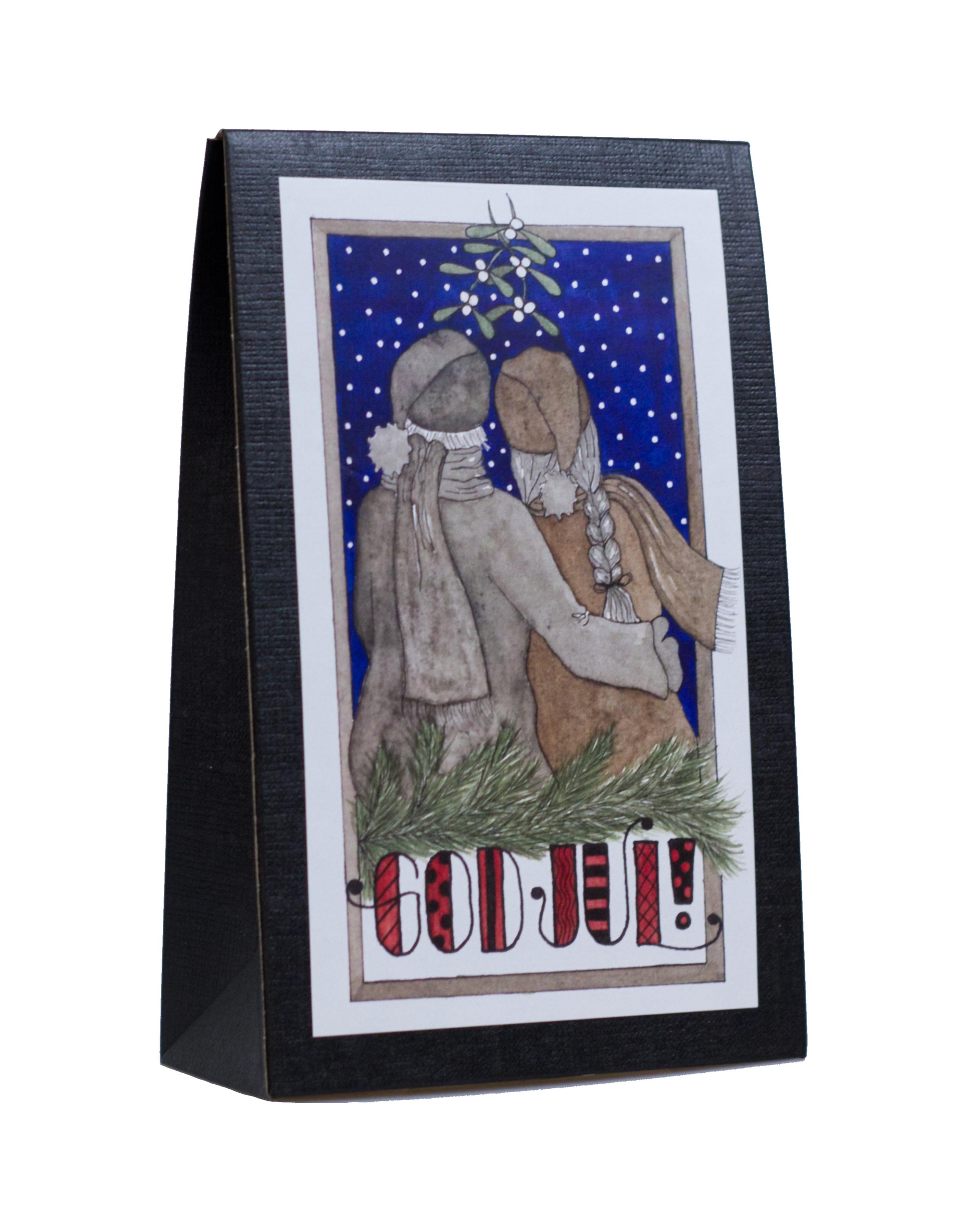 Julask med Choklad 'God Jul'