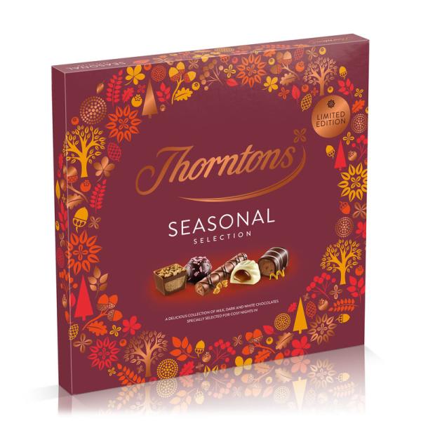 Chokladask Thorntons exklusiva Seasonal Selection