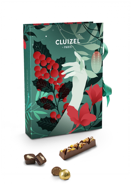 Exklusiv Chokladkalender från Michel Cluizel