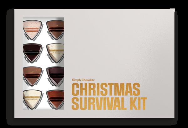 Chokladask 'Christmas Survival Kit' - Simply Chocolate