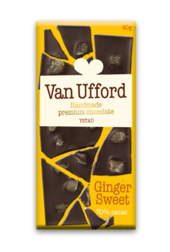 Chokladkaka Van Ufford Ginger Sweet Ekologisk